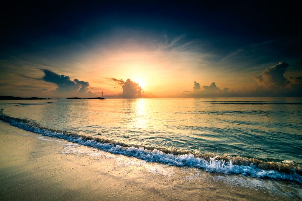 Thailand Koh Samui Sonnenaufgang